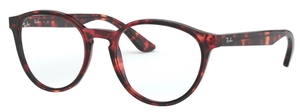 Ray Ban Glasses RX5380 Havana Opal Pink