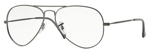 Ray Ban Glasses RX6049 Matte Gunmetal