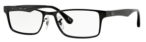 Ray Ban Glasses RX6238 Shiny Black 2509
