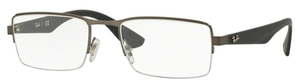 Ray Ban Glasses RX6331 Matte Gunmetal
