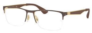 Ray Ban Glasses RX6335 Gold/Havana