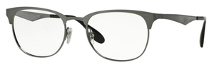 Ray Ban Glasses RX6346 Brushed Gunmetal