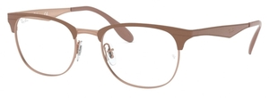 Ray Ban Glasses RX6346 Copper on Top Bordeaux