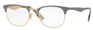 Ray Ban Glasses RX6346 Gold/Matte Grey