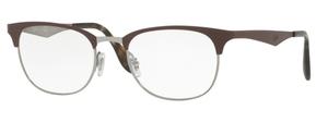 Ray Ban Glasses RX6346 Gunmetal/Matte Brown