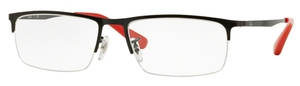 Ray Ban Glasses RX6349D Shiny Black