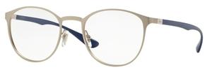 Ray Ban Glasses RX6355 Matte Silver