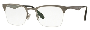 Ray Ban Glasses RX6360 Brusched Gunmetal