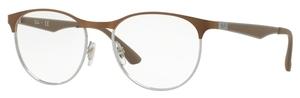 Ray Ban Glasses RX6365 Light Brown Gloss