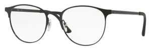 Ray Ban Glasses RX6375 Black Top On Matte Black
