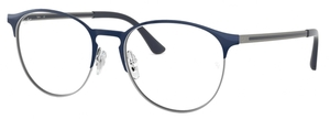 Ray Ban Glasses RX6375 Gunmetal on Top Blue