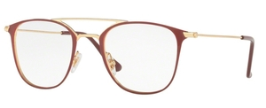 Ray Ban Glasses RX6377 Gold / Shiny Bordo'