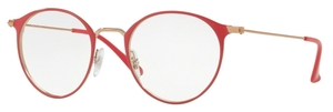 Ray Ban Glasses RX6378 Silver on Top Blue