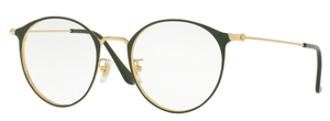 Ray Ban Glasses RX6378F Gold/Green