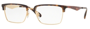 Ray Ban Glasses RX6397 Gold 2933