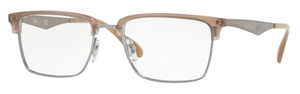 Ray Ban Glasses RX6397 Gunmetal / Tan 2935
