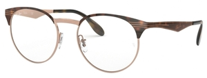Ray Ban Glasses RX6406 Copper on Top Havana