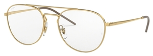 Ray Ban Glasses RX6414 Gold