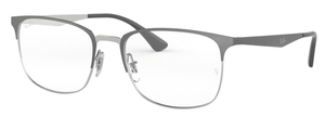 Ray Ban Glasses RX6421 Silver on Top Grey