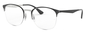 Ray Ban Glasses RX6422 Silver on Top Matte Black