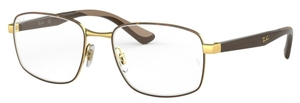 Ray Ban Glasses RX6423 Gold on Top Havana