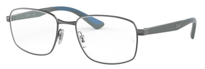 Ray Ban Glasses RX6423 Gunmetal