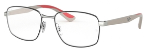 Ray Ban Glasses RX6423 Silver on Top Black