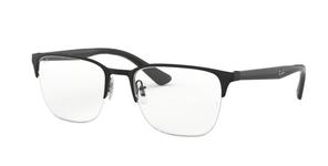 Ray Ban Glasses RX6428 Black on Top Matte Black