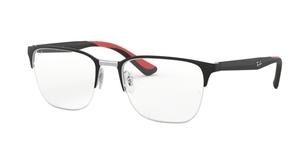 Ray Ban Glasses RX6428 Silver on Top Matte Black