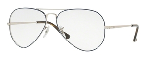Ray Ban Glasses RX6489 Aviator Eyeglasses