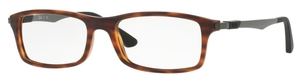 Ray Ban Glasses RX7017 Red Havana