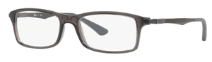 Ray Ban Glasses RX7017 Transparent Grey