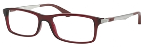 Ray Ban Glasses RX7017 Transparent Red