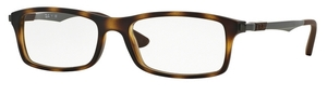 Ray Ban Glasses RX7017 Dark Havana