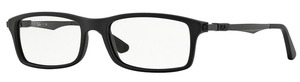 Ray Ban Glasses RX7017 Matte Black 5196