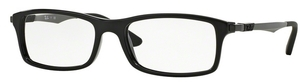 Ray Ban Glasses RX7017 Shiny Black