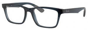 Ray Ban Glasses RX7025 Transparent Grey/Blue