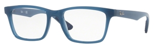 Ray Ban Glasses RX7025 Transparent Light Blue