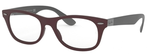 Ray Ban Glasses RX7032 Sand Dark Violet