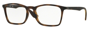 Ray Ban Glasses RX7045 Rubber Havana