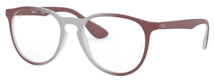 Ray Ban Glasses RX7046 Light Brown on Bordeaux Gradient