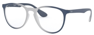 Ray Ban Glasses RX7046 Light Grey on Blue Gradient