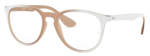 Ray Ban Glasses RX7046 Pink on White Gradient