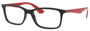 Ray Ban Glasses RX7047 Black/Red
