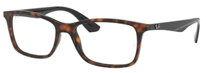 Ray Ban Glasses RX7047 Red Havana