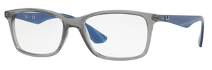 Ray Ban Glasses RX7047 Transparent Grey