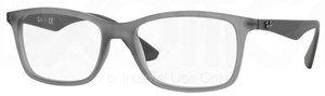 Ray Ban Glasses RX7047 Matte Transparent Grey 5482