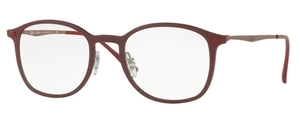 Ray Ban Glasses RX7051 Matte Bordo'