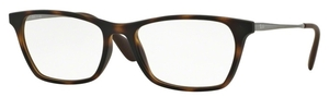 Ray Ban Glasses RX7053F Asian Fit Rubber Havana