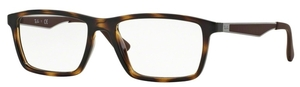 Ray Ban Glasses RX7056 Shiny Havana
